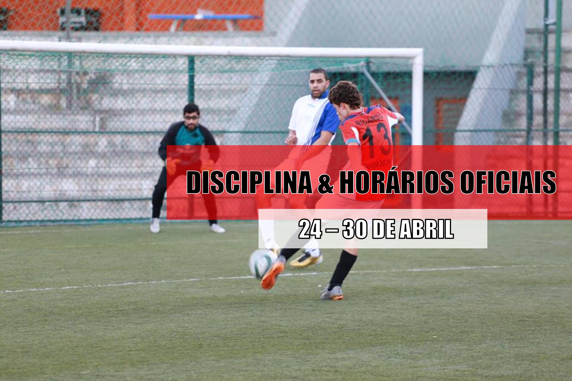 DISCIPLINA   HORÁRIOS OFICIAIS – 27 DE ABRIL  5ef1a598767a5