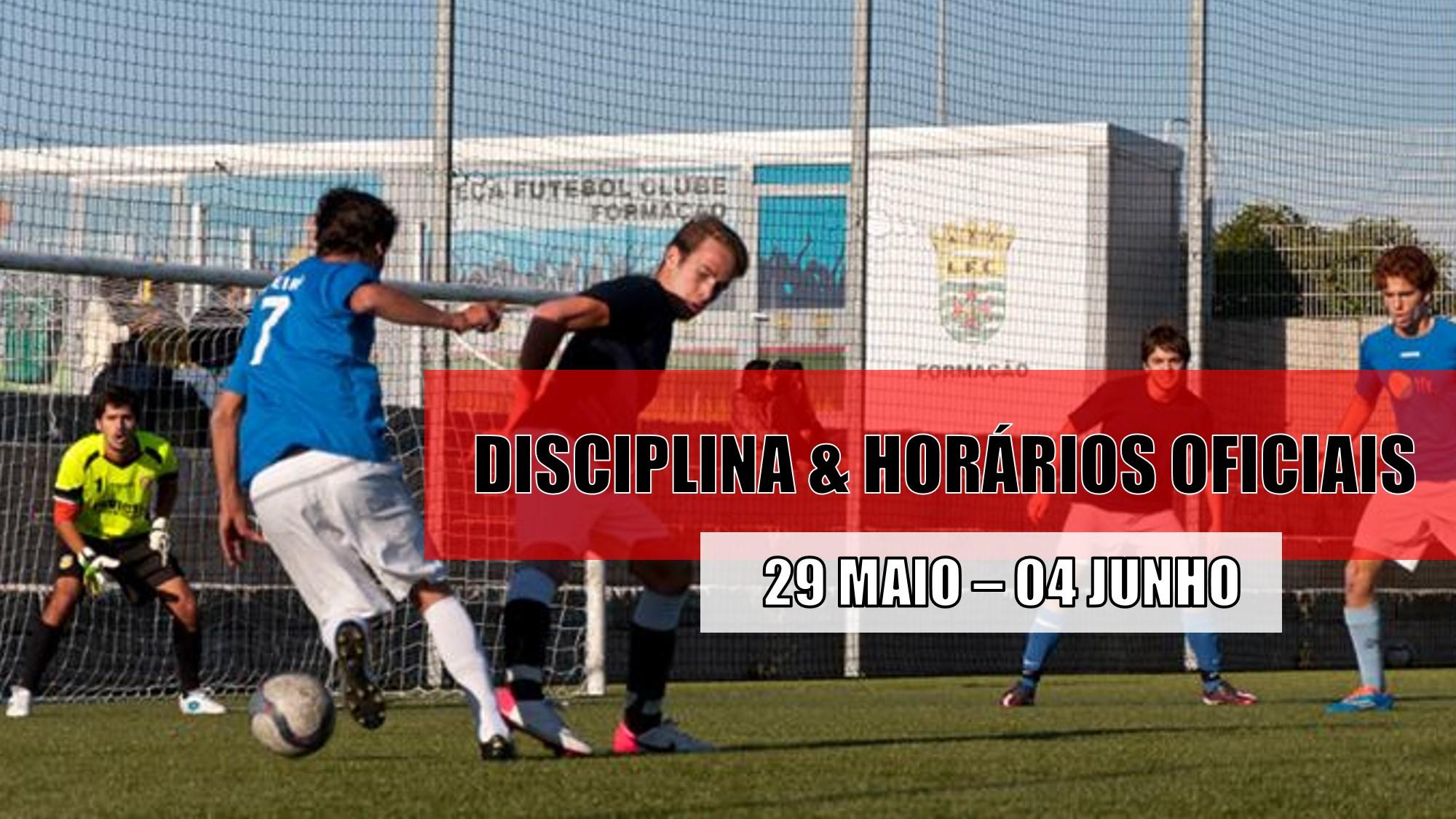 DISCIPLINA   HORÁRIOS OFICIAS – 01 DE JUNHO  6ae9ef5ba6c34