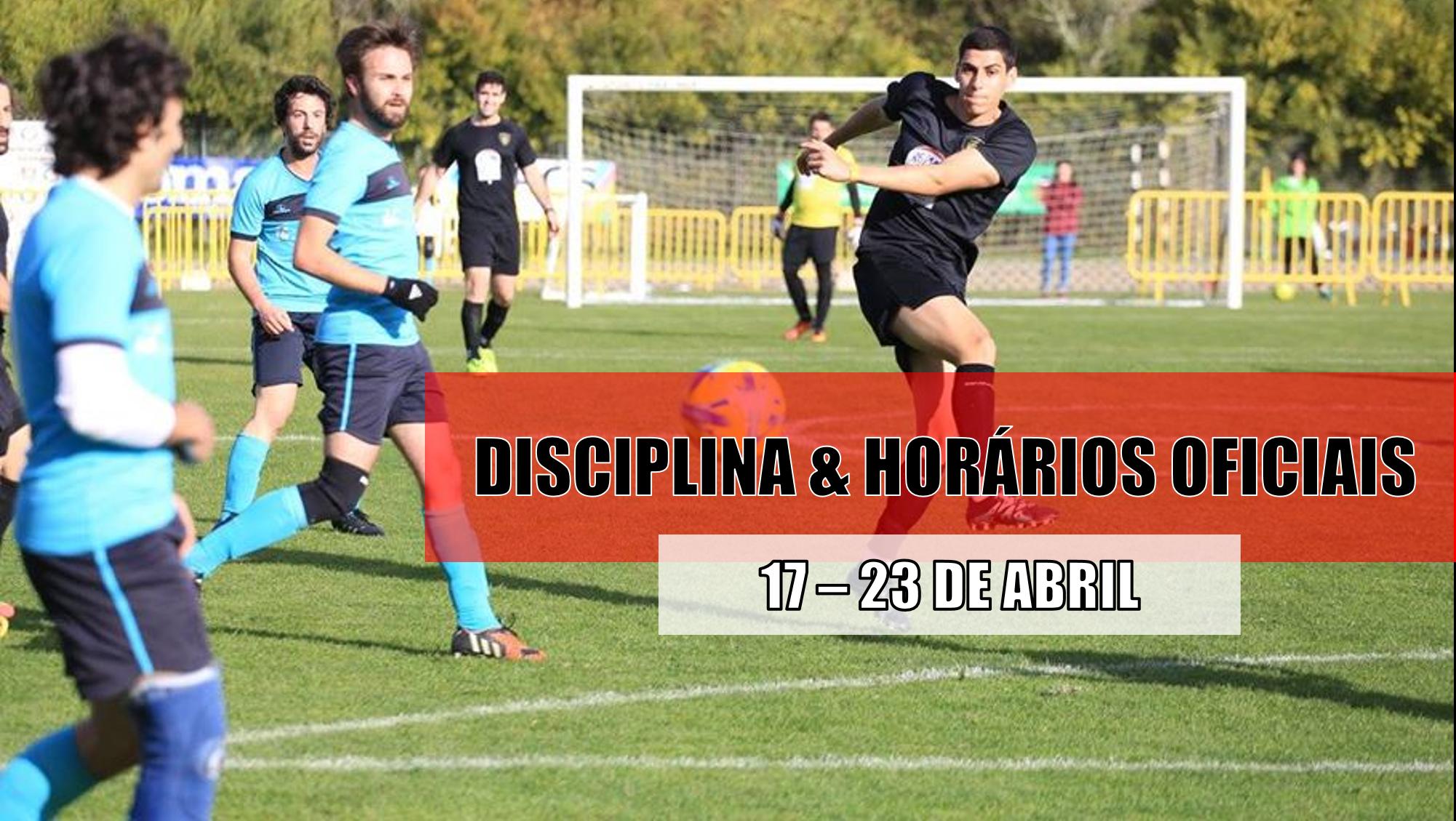 DISCIPLINA   HORÁRIOS OFICIAIS – 20 DE ABRIL  796b30b02f219