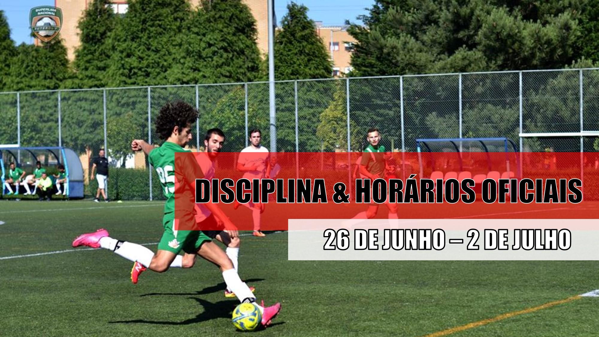 DISCIPLINA   HORÁRIOS OFICIAS – 29 DE JUNHO  38654a1b2164c